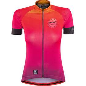 Northwave Watermelon - Maillot manches courtes Femme - Switch Line orange/rose